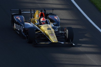 Indy 500 polesitter Hinchcliffe wishes he had turned off dashboard