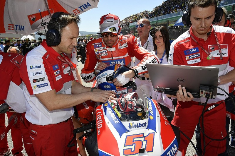 Works Ducati MotoGP test rider Pirro to stand in for Baz at Avintia