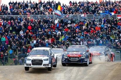 Loeb, Solberg say Ekstrom has them on back foot in World Rallycross