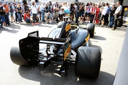 Pirelli unveils 2017 F1 tyres, Ferrari/Red Bull/Mercedes to test