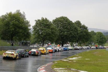 Hail and torrential rain halts Nurburgring 24 Hours
