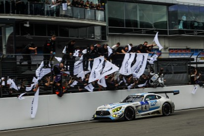 Black Falcon Mercedes wins Nurburgring 24 Hours with last-lap move