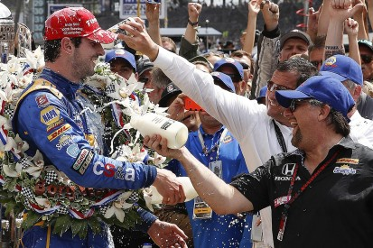 Indy 500 winner Rossi had 'no idea' about ovals, boss Andretti says