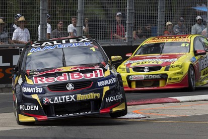 Homebush V8 Supercars: Jamie Whincup denies Tim Slade first win