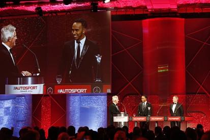 AUTOSPORT Awards 2014: Lewis Hamilton wins British Driver