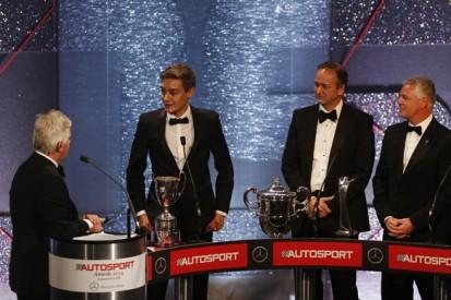 George Russell wins 2014 McLaren AUTOSPORT BRDC Award