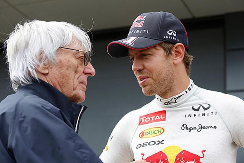 F1 supremo Bernie Ecclestone 'disappointed' in Sebastian Vettel