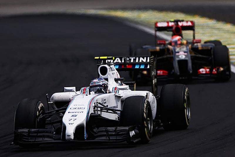 Lotus targeting F1 rival Williams in 2015 thanks to Mercedes move
