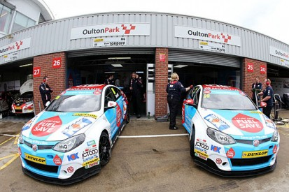 MG renews BTCC deal, but Jason Plato unlikely to stay with team