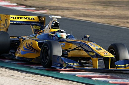 Ex-F1 driver Kamui Kobayashi tops Super Formula test at Okayama