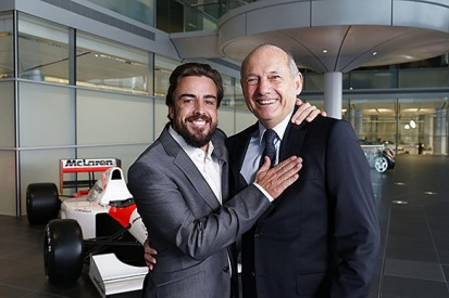 Fernando Alonso returned to McLaren to make up for 2007 F1 season
