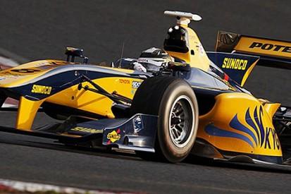 Ex-F1 driver Kamui Kobayashi sets Super Formula testing pace again