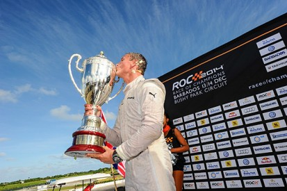 Race of Champions: David Coulthard defeats Pascal Wehrlein in final