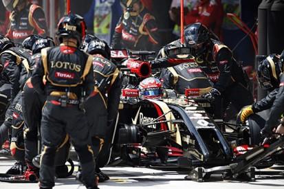 Romain Grosjean says Lotus F1 team has learned from tough 2014