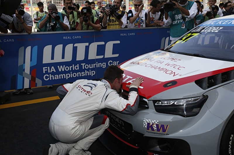 Jose Maria Lopez stunned by 2014 World Touring Car success