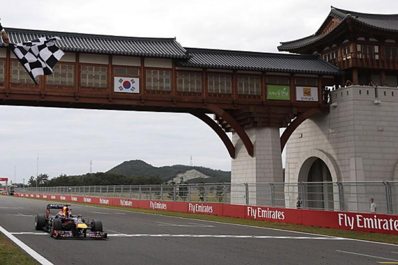 FIA confirms that Korean GP dropped from 2015 F1 calendar