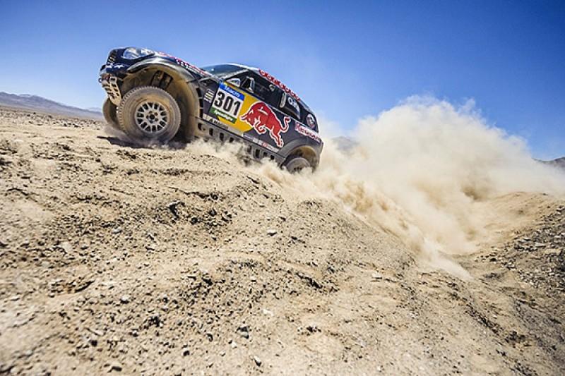 Dakar: Nasser Al-Attiyah extends lead with third stage win