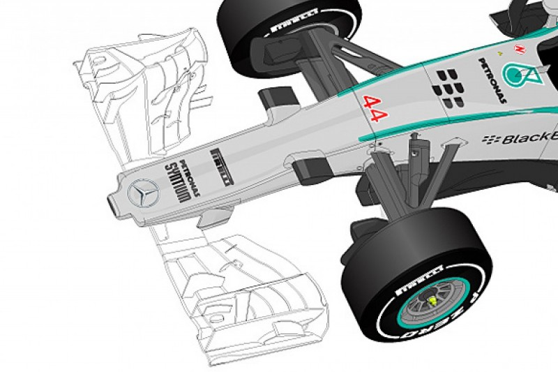 Analysis: Formula 1's 2015 nose rules change a headache for teams