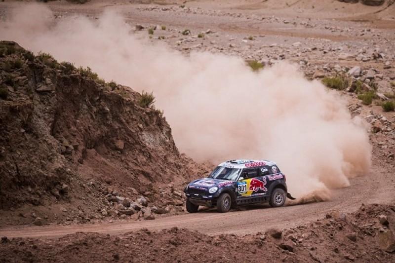 Dakar: Al-Attiyah quickest on stage 10 as Roma crashes