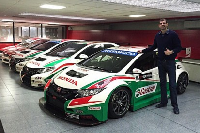 Dusan Borkovic switches to Proteam Honda for 2015 WTCC