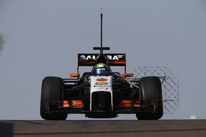 New Force India F1 car will not run at first Jerez test