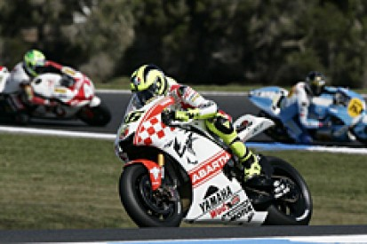 Rossi happy with practice progress
