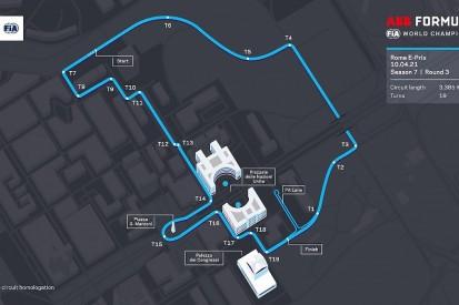 Formula E reveals new Rome E-Prix track layout