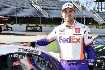 Hamlin signs multi-year deal with Joe Gibbs Racing