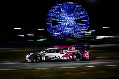 Daytona 24 Hours: AXR's Johnson leads van der Zande after hour 9