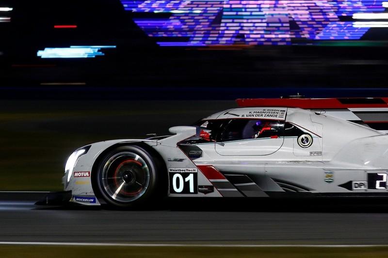 Daytona 24 Hours: Ganassi leads from Meyer Shank after hour 15