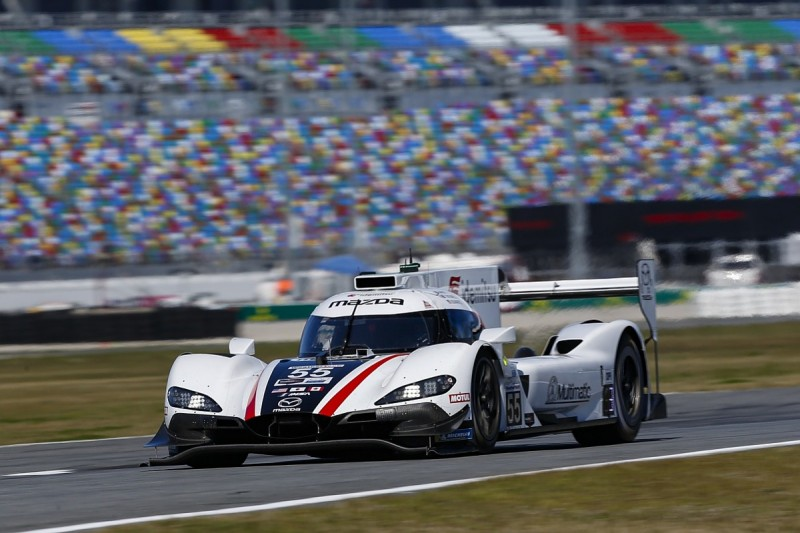 "Mazda ""in strong place"" for maiden Daytona 24 Hours win - Tincknell"