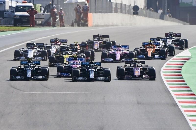 Formel 1: Umgekehrte Startaufstellung vom Tisch, Sprintrennen noch nicht