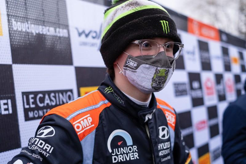 WRC-Debüt mit 19 Jahren: Oliver Solberg fährt Arctic Rallye in einem Hyundai