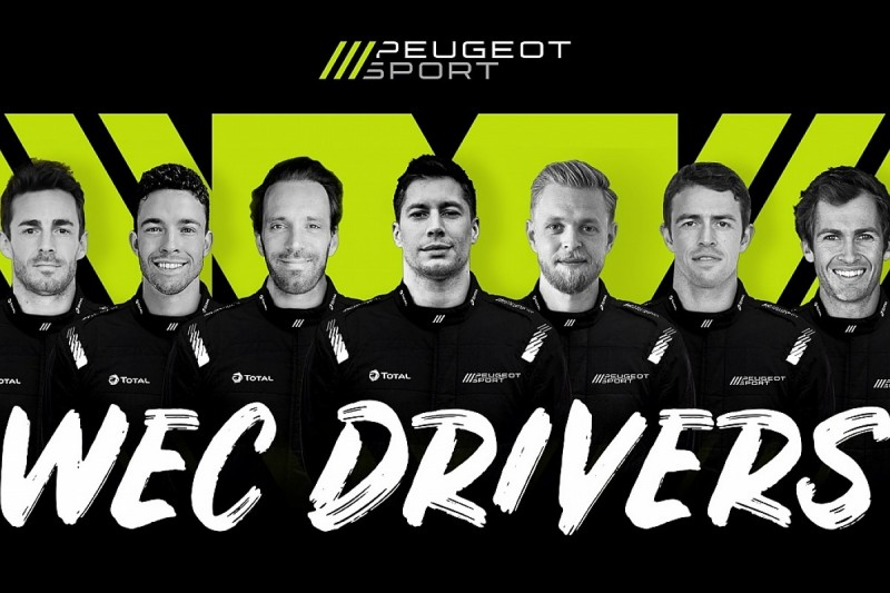 Magnussen, di Resta, Vergne headline Peugeot driver line-up for WEC
