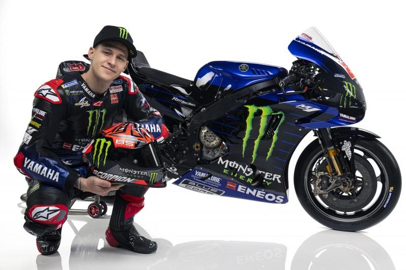 Die Yamaha M1 ist zu schwer: Fabio Quartararo beklagt Übergewicht