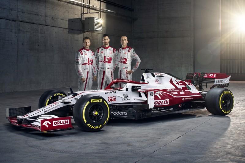 Formel-1-Launch in Warschau: Alfa Romeo präsentiert den C41