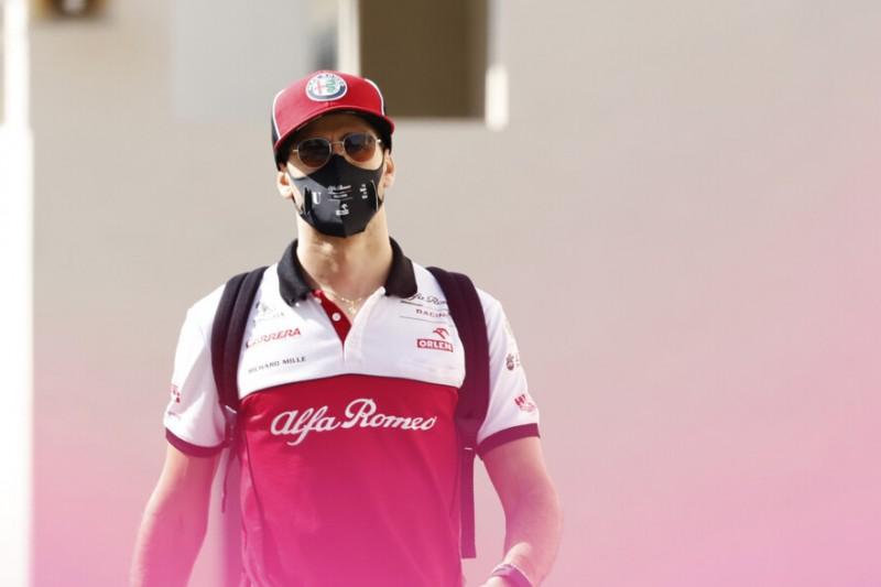Antonio Giovinazzi träumt: Mit Alfa Romeo auf's Podium