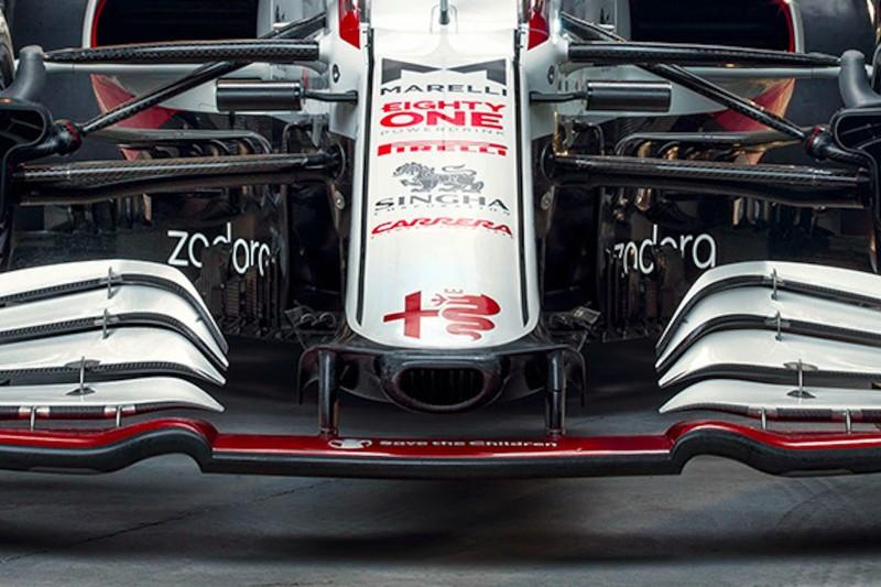 Alfa Romeo C41: Token für neue Nase und Frontpartie eingesetzt