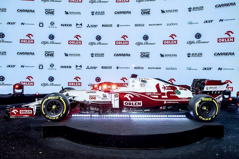 Alfa Romeo planning early-season updates for 2021 F1 car