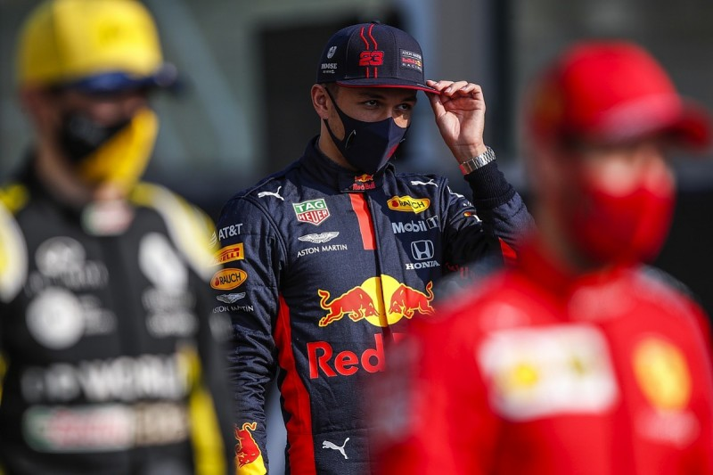 Albon: No point 'wallowing about' over lost Red Bull F1 place