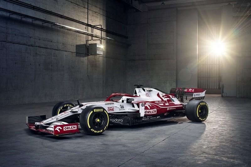 Alfa Romeo unveils new C41 Formula 1 car ahead of 2021 season