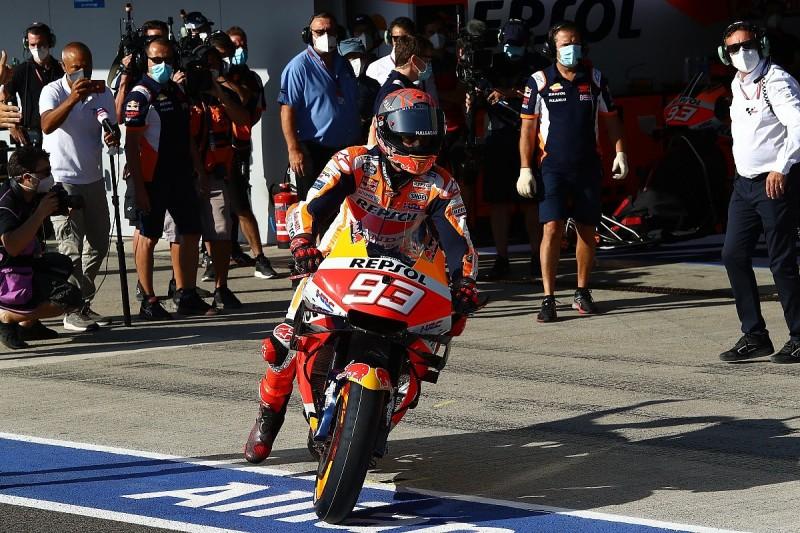 Marquez out of Qatar MotoGP test as return date still unknown
