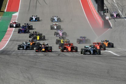 What are Formula 1's options for a second US race?