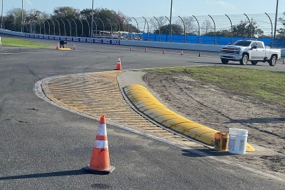 Daytona chicane undergoes changes after driver criticism