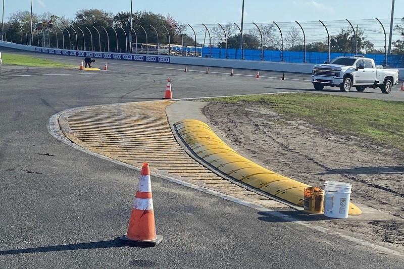 Daytona chicane undergoes changes after driver criticism