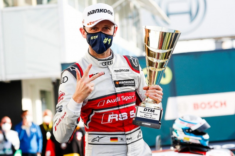 Rast won't defend DTM title in 2021 with full focus on Formula E