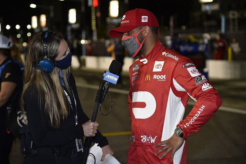 """Jordan: Wallace has talent to """"learn how to win"""" NASCAR Cup races"""