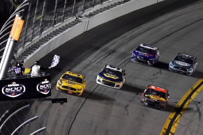 Daytona 500: Maiden NASCAR win for McDowell after fiery final-lap crash