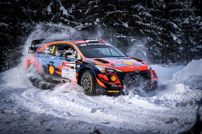 Tanak leads Hyundai 1-2 in warmup event for Arctic Rally Finland