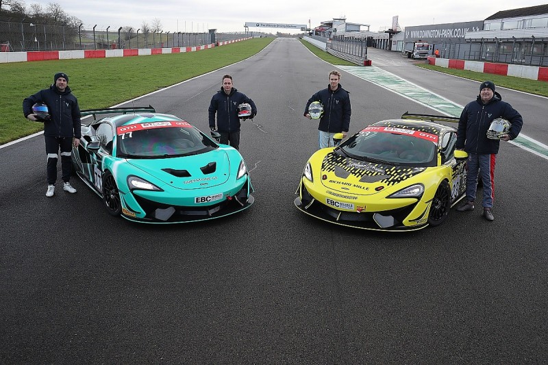 Carroll and Webb to compete in GT4 McLarens in GT Cup with Greystone GT